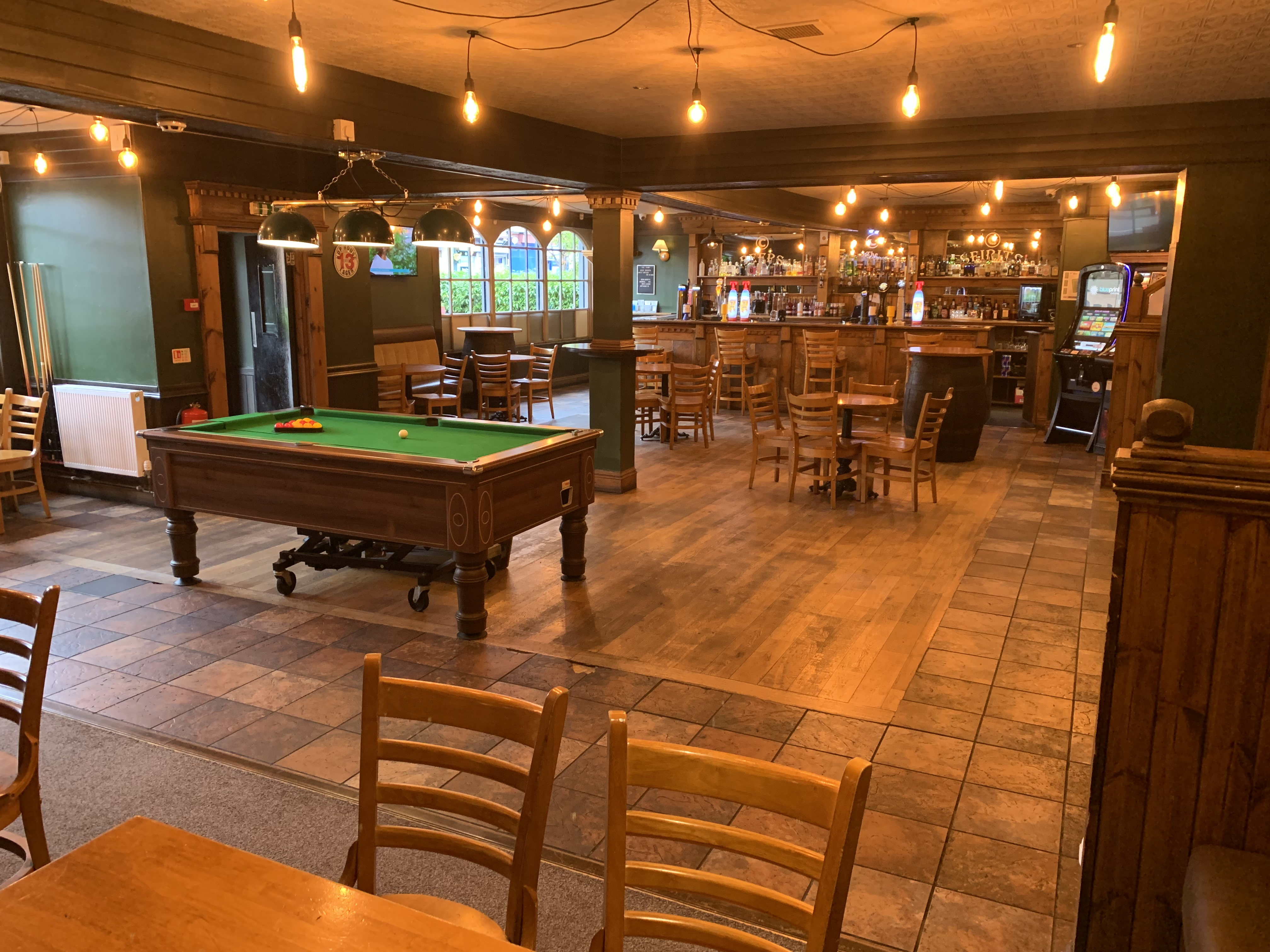 Have a Pint with a game of pool