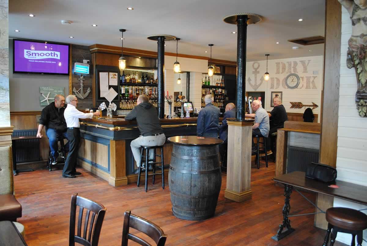 A thriving community pub