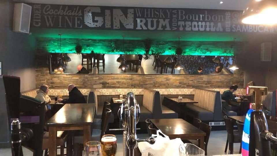 A spacious pub and beer garden